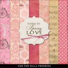 Scrapbooking TammyTags -- TT - Designer - Far Far Hill,  TT - Item - Paper