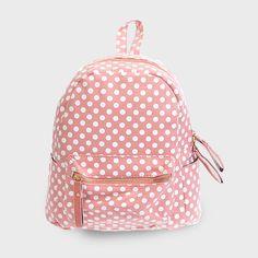 Mini Polka Dot Backpack in Aspen