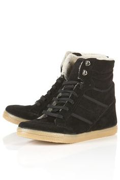 Aching to try the wedge sneaker trend? This pair from TOPSHOP won't break the bank ($96).