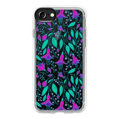 Neon Fuchsias - iPhone 7 Case And Cover ($40) ❤ liked on Polyvore featuring accessories, tech accessories, phone cases, iphone case, iphone cover case, clear iphone case, neon iphone case, iphone cases and apple iphone case