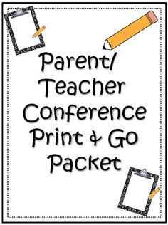 This packet has everything you need to execute seamless parent/ teacher conferences! From tips about conference sign-ups, conference reminder slips to print and send home, parent surveys to print and send home, and recording sheets for the teacher, conferences will be much easier with these helps!