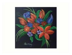 Hey, I found this really awesome Etsy listing at https://www.etsy.com/uk/listing/547048102/floral-boquet-art-print-wall-art-home