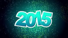 New Year 2015 Stock Animation