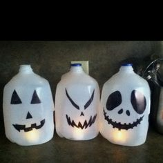halloween milk jugsdid this last year the kids loved it