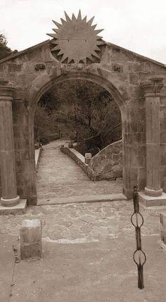 Entrance to the Yazidi Sun Temple. Just beautiful❤