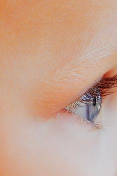 Close Up Photography of Baby's Right Eye