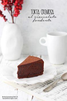 La tana del coniglio: Torta cremosa al cioccolato fondente