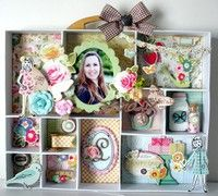 A Project by Lu Minoti from our Scrapbooking Home Decor Galleries
