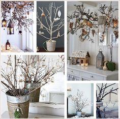 """Continuamos con nuestra """"Semana de Inspiración Navideña"""". Hoy nos hemos centrado en una decoraciónque incluye elementos de la naturaleza. ..."""