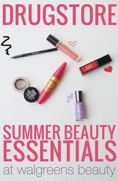 Drugstore Summer Beauty Essentials with #WalgreensBeauty #shop #CollectiveBias