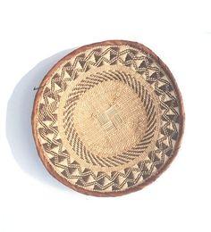 Namibian Tribal Basket: Large