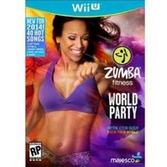 nice Majesco O1806 Zumba Fitness World Party Game - Wii U  Zumba Fitness World Party WiiU Move to 30+ dance styles from around the world including Salsa, Hip-Hop, Tahitian, Calypso, Bollywood, Cumbia, Reggaeto... http://gameclone.com.au/accessories/fitness-accessories/majesco-o1806-zumba-fitness-world-party-game-wii-u/