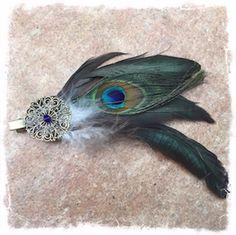 [:de] Ein wunderschöner Clip, zu befestigen an Kleidung, Haar oder Hüten. Jetzt in meinem Shop![:]