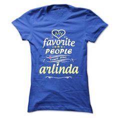 My Favorite People Call Me arlinda- T Shirt, Hoodie, Ho - #gift for girlfriend #graduation gift. BUY IT => https://www.sunfrog.com/Names/My-Favorite-People-Call-Me-arlinda-T-Shirt-Hoodie-Hoodies-YearName-Birthday-Ladies.html?68278