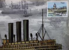 Bernard Buffet - Bateaux : Le Hâvre, La Rochelle, Brest - Catawiki