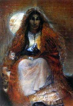 Sarah Kali » alias « Portrait of the Inner Journey for Emily Reeve » - 1987