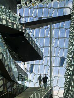Harpa - Reykjavik Concert Hall and Conference Centre  | Reykjavik, Iceland | Henning Larsen Architects and Olafur Eliasson | photo by © Nic Lehoux