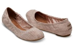 Break out the dancing shoes—it's time to celebrate. The cushioned insole on this ballet flat will keep feet comfortable from the first step down the aisle to the last dance.