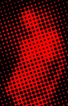 Half Tone Dot screen mix