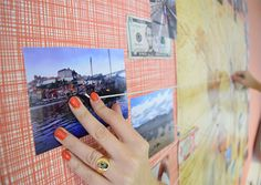 DIY World Photo Map...
