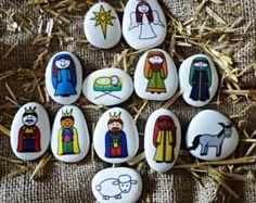 Nativity story stone set