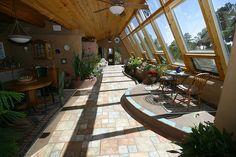 Hallway/Greenhouse Looking East by theentiremikey, via Flickr