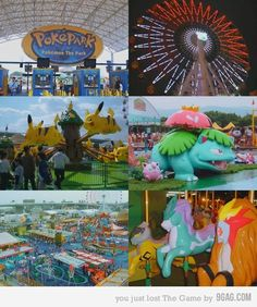 PokePark. I'm so sad this doesn't exist anymore.-------- you were saying this was an actual place????!!?! why wasn't I informed about this magical, wonderful place>>