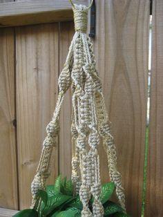 Macrame Plant Hanger Pearl 34 Handmade by Carolecreate on Etsy