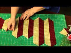 Sew Easy: Bias Strip Piecing