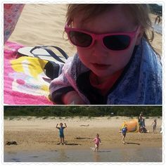 Sun is out kids are in the water!! #angleseabeach #sun #fun #familytime by amandamartinmakeupdesign http://ift.tt/1KosRIg