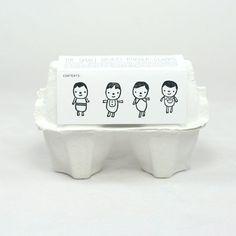 """Set de 4 tampons """"my little sweeties""""  ♥ The small object / DANS UN PETIT VILLAGE .com"""