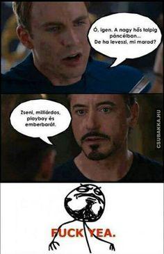Marvel Memes, Marvel Avengers, Playboy, Dankest Memes, Jokes, Funny Pins, Tony Stark, Marvel Universe, Iron Man