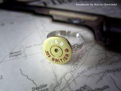 Pierścionek - denko kal. 303 British