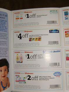 baby coupon lot on Listia.com