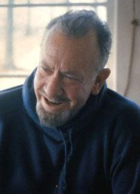 Novelist John Steinbeck (1902-1968) - many of Steinbeck's books are required reading in American high schools.