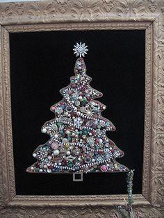 New Diy Christmas Tree Costume Old Jewelry Ideas Christmas Tree Costume, Christmas Tree Art, Christmas Jewelry, Christmas Crafts, Christmas Decorations, Christmas Ornaments, Christmas Necklace, Silver Christmas, Holiday Decor