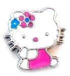 Hello Kitty Slide Charm 8mm $2.95 http://www.sparklyexpressions.com/#1019