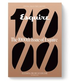 Esquire — 1000th Issue Cover on Behance