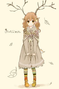 #mori, #morikei, #forestgirl  http://touch.pixiv.net/member_illust.php?id=1533202