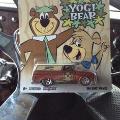Hot Wheels Yogi Bear
