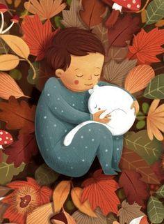 November by Alessandra Psacharopulo, via Behance