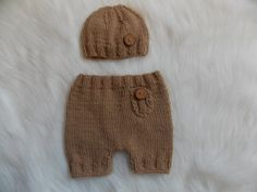 Newborn Shortsnewborn setNewborn Knitted HatKnit by StephanDesign, $27.00 Photo Props, Baby Photos, Winter Hats, Trending Outfits, Children, Handmade Gifts, Etsy, Shopping, Vintage