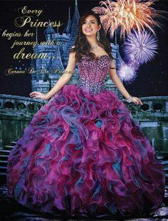 "Remembering our ""Corona de la princesa"" contest! #Quinceanera #misquince #Dress #cute #quinceaños #disney #beautiful"