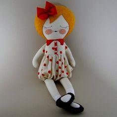 Poupée en tissu de juin 18 une poupée de par piggyhatespanda