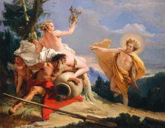 Giovanni Battista Tiepolo Apollo Pursuing Daphne c. 1755/1760