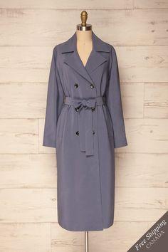 Rallio Blue from Boutique 1861 Online Fashion Boutique, Jumpsuit, Shirt Dress, Coat, Womens Fashion, Jackets, Blue, Shirts, Outfits