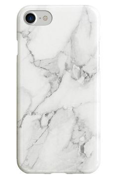 Recover White Marble iPhone 6 6s 7 8   6 6s 7 8 Plus Case  58ced3d1c5b89