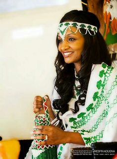 Oromo Tribe Ethiopian Dress