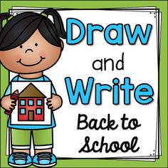 Draw and Write Back to School- fun and engaging activities to keep your students ready to learn!