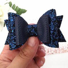 Trendy diy baby headbands and bows ribbon Ideas Diy Baby Headbands, Diy Hair Bows, Diy Bow, Diy Headband, Baby Bows, Crochet Headbands, Blue Glitter, Glitter Fabric, Glitter Hair